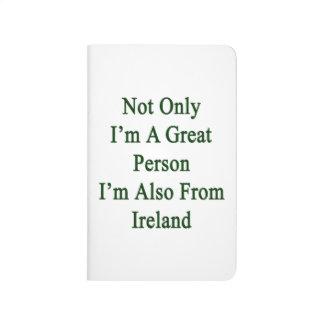 No sólo soy una gran persona que soy también de cuadernos