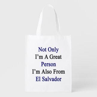 No sólo soy una gran persona que soy también de EL Bolsa De La Compra
