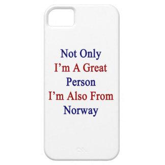 No sólo soy una gran persona que soy también de iPhone 5 Case-Mate cobertura
