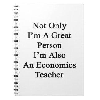 No sólo soy una gran persona que soy también una cuaderno