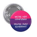 No somos botón confuso pins