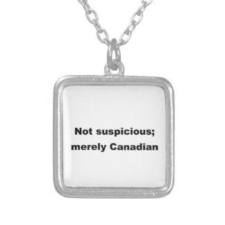 No sospechoso simplemente canadiense colgantes personalizados