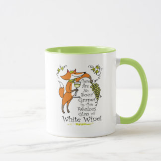 No Sour Grapes in this Fabulous White Wine Mug