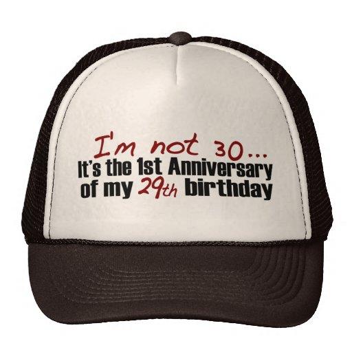 No soy 30 gorros bordados