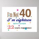 No soy 40 impresiones