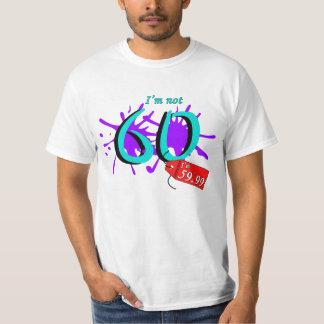 No soy 60 que soy texto de 59,99 pinturas poleras