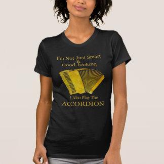 No soy acordeón apenas elegante y apuesto camisetas