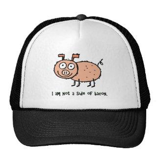 No soy activista del animal del tocino gorros