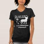 No soy apenas una persona del perro; Soy una mamá Camisetas