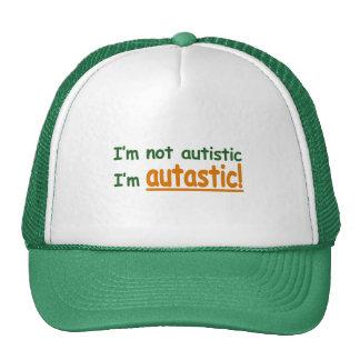 ¡No soy autístico yo soy Autastic Conciencia del Gorras De Camionero