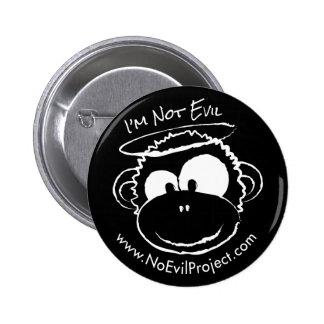 No soy botones malvados del mono - negro