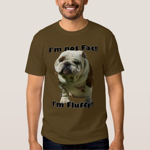 No soy camiseta gorda del dogo playeras
