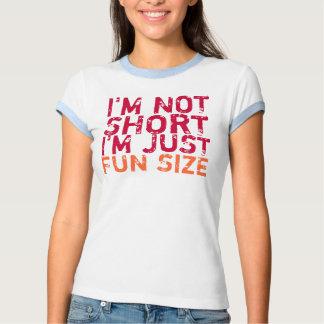 No soy corto, yo soy apenas camiseta del tamaño de polera