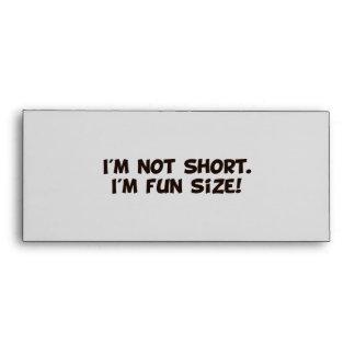No soy corto yo soy tamaño de la diversión