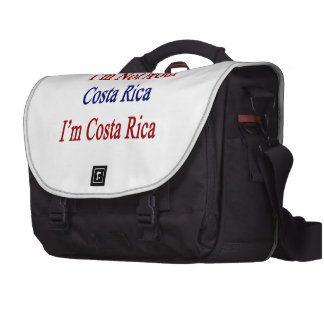 No soy de Costa Rica que soy Costa Rica Bolsas De Ordenador