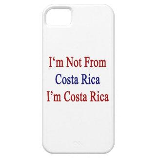 No soy de Costa Rica que soy Costa Rica iPhone 5 Protectores