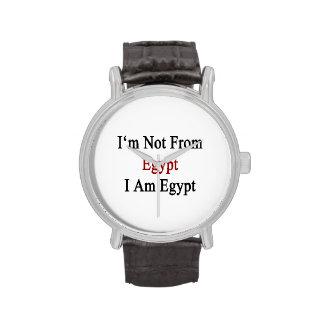 No soy de Egipto que soy Egipto