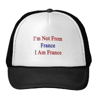 No soy de Francia que soy Francia Gorra
