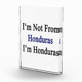 No soy de Honduras que soy Honduras