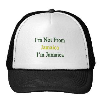 No soy de Jamaica que soy Jamaica Gorros