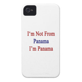 No soy de Panamá que soy Panamá Case-Mate iPhone 4 Protectores