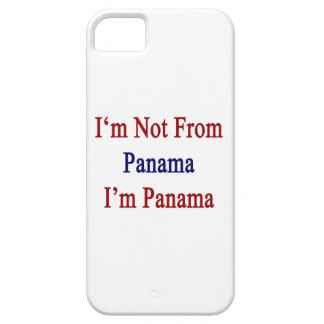 No soy de Panamá que soy Panamá iPhone 5 Case-Mate Cobertura