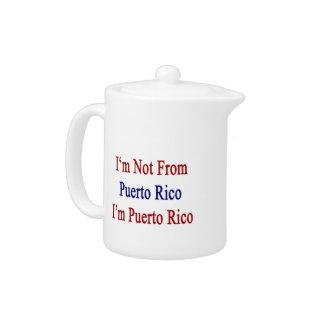 No soy de Puerto Rico que soy Puerto Rico