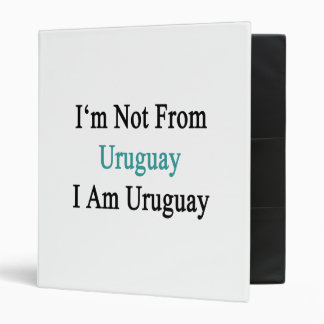 No soy de Uruguay que soy Uruguay
