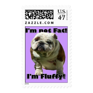 No soy dogo gordo timbres postales
