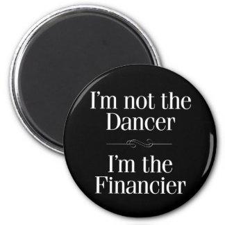 No soy el bailarín imán redondo 5 cm