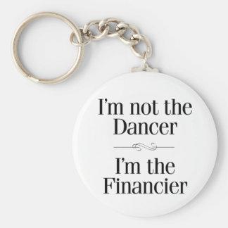 No soy el bailarín llavero redondo tipo pin
