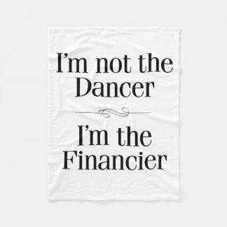 No soy el bailarín manta de forro polar