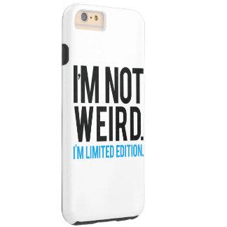No soy extraño yo soy edición limitada funda de iPhone 6 plus tough