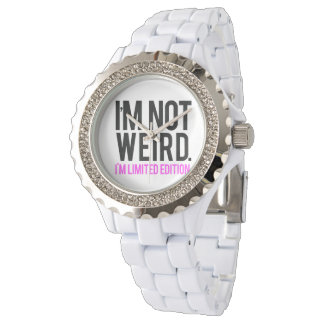 No soy extraño yo soy edición limitada relojes