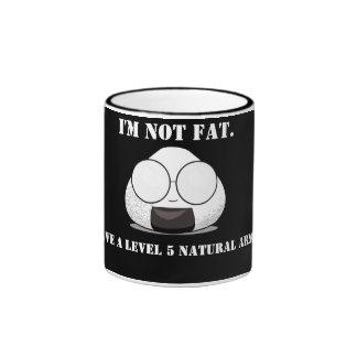 No soy FAT. ¡Soy LLENO de CONOCIMIENTO! Taza De Dos Colores