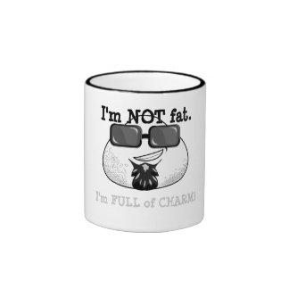 No soy FAT. ¡Soy LLENO de ENCANTO! Taza De Dos Colores