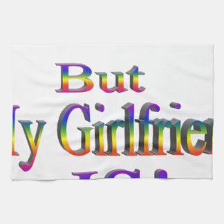 No soy gay, mi novia soy toalla de cocina