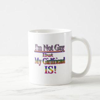 No soy gay pero mi novia es taza de café