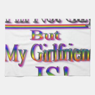No soy gay pero mi novia es toalla