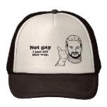 No soy gay, yo apenas actúo esa manera gorras