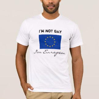 No soy gay, yo soy europeo playera