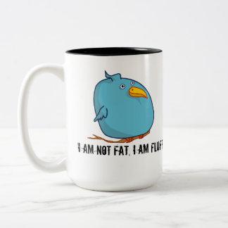 ¡No soy gordo - soy mullido! Taza
