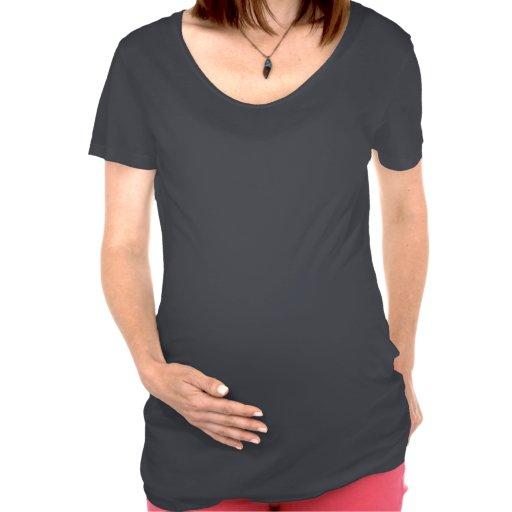 ¡No soy gordo yo estoy embarazada! Camiseta De Maternidad