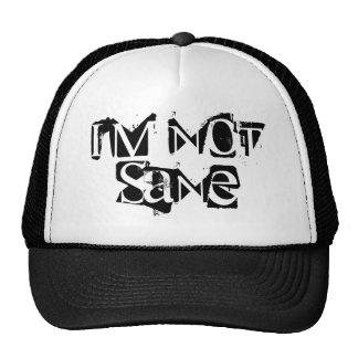 No soy gorra sano