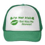 No soy irlandés gorras