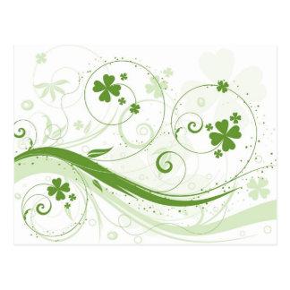 ¡No soy irlandés, me beso de todos modos! Postal