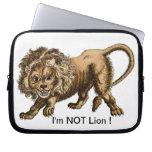 ¡No soy león! - MOUSEPAD Fundas Computadoras