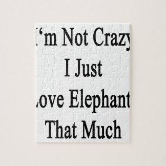 No soy los elefantes locos del amor de I apenas Puzzle