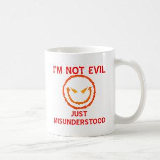No soy malvado apenas entendido mal tazas