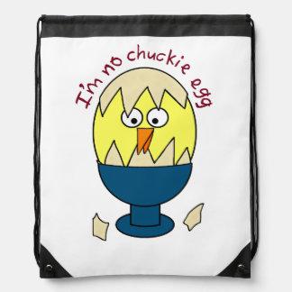 No soy ningún humor del huevo de Chuckie Mochila